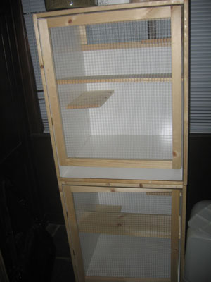 Homemade Chinchilla Cages Plans